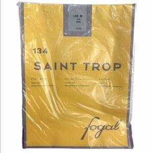 New Saint Trop Fogal Pantyhose 134M 210 Noir